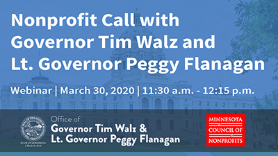 Call with the Governor's Office - March 30