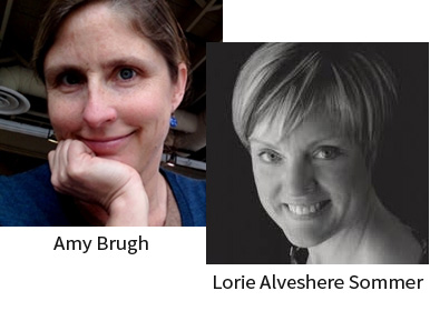Amy Brugh and Lorie Alveshere Sommer
