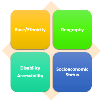 Inclusion & Equity Focus Areas