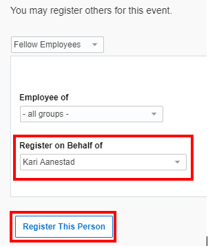 Pay for Another Co-worker registration 2