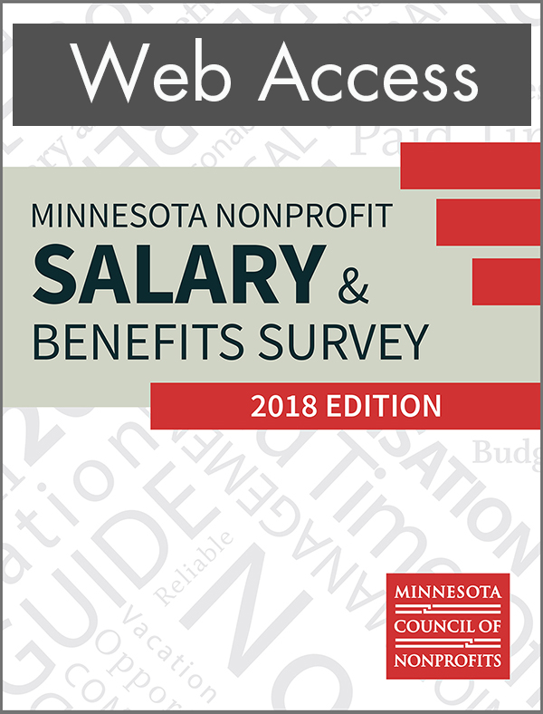2018 Salary Survey web access cover