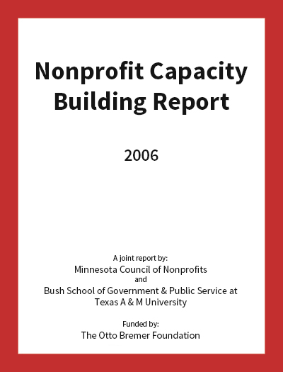 Nonprofit Capacity Building Report