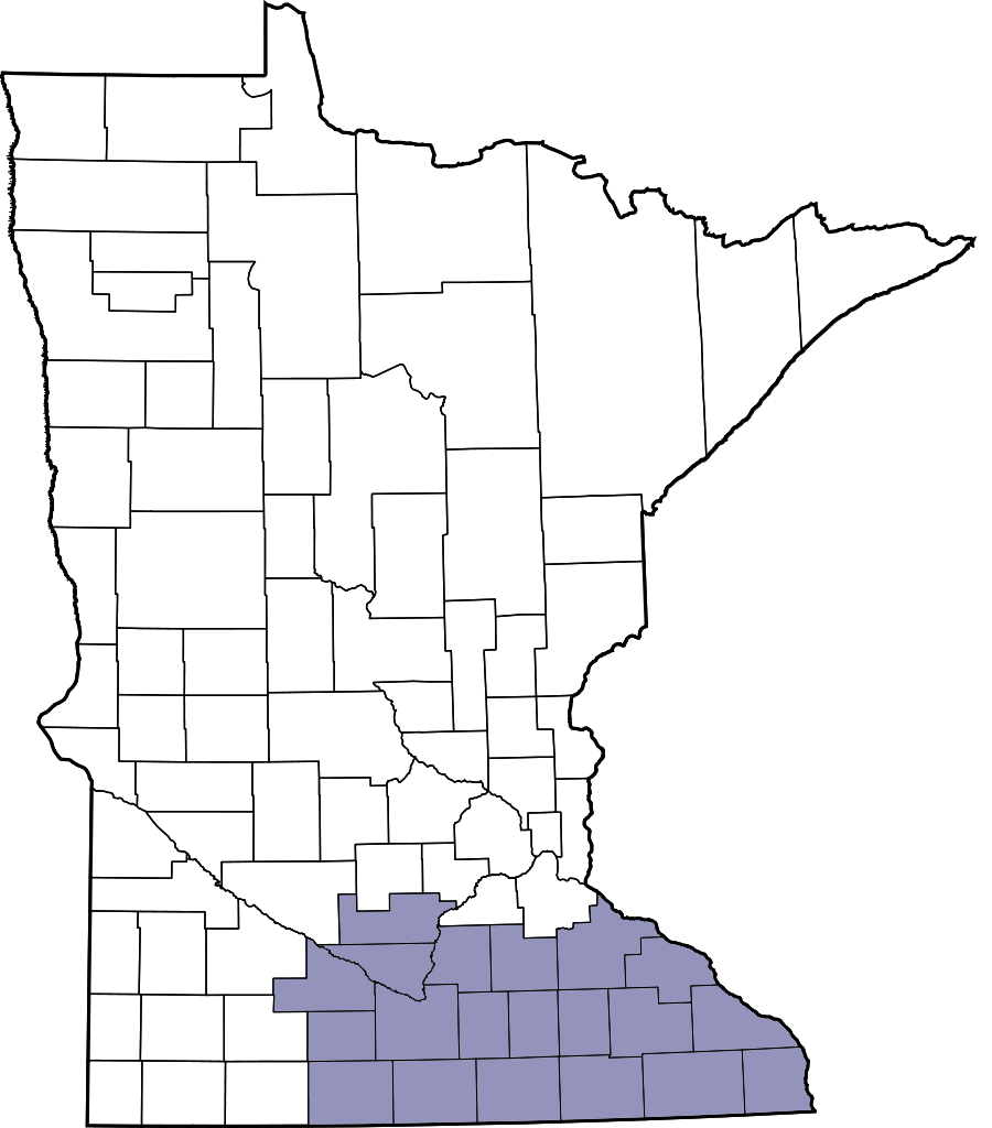 Southeast Minnesota map